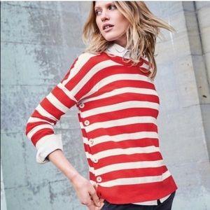 Boden | Grace Striped Wool Blend Sweater size XS